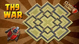 getlinkyoutube.com-NEW WAR BASE TH9 #6 | AIR SWEEPER EDITION | NEW UPDATE