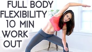 getlinkyoutube.com-10 Minute Beginners Workout, Full Body Flexibility Stretches, At Home Stretching Routine Exercises