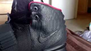 getlinkyoutube.com-Air Yeezy 2 Super Perfect toe box fix & scale fix (FOR SELL)