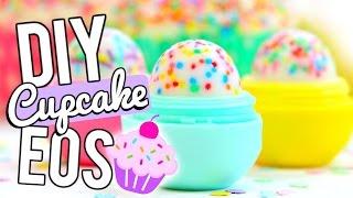 DIY Cupcake EOS LIP BALM!