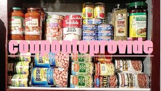 getlinkyoutube.com-No Pantry No Problem! Cabinet Organization and Storage Solutions on a Budget! July 2016