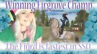 getlinkyoutube.com-Winning Firgrove Championship - The Fjord is the fastest horse in Star Stable