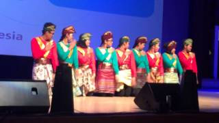 getlinkyoutube.com-Indonesia Saman Dance (Daejeon International Dance Competition 2014)
