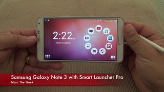 getlinkyoutube.com-Samsung Galaxy Note 3 with Smart Launcher Pro