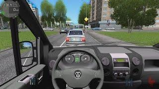 getlinkyoutube.com-City Car Driving - Gazelle Next