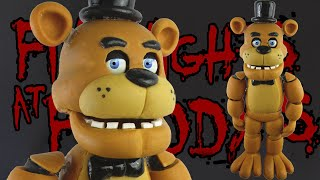 "getlinkyoutube.com-FREDDY FAZBEAR ""TUTORIAL"" ✔PORCELANA FRIA ✔POLYMER CLAY ✔PLASTILINA"