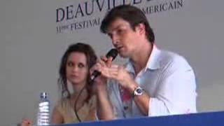 Summer and Nathan at Deauville Festival 2005