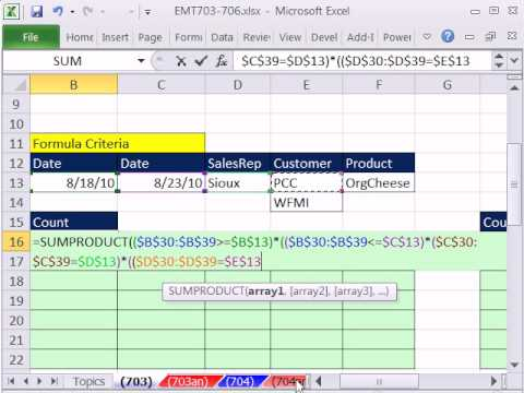 Excel Magic Trick 703: Extract Records Multiple Criteria (AND OR logic) Filter, Formula, Adv. Filter