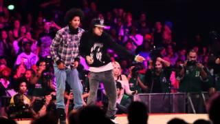 getlinkyoutube.com-Les Twins vs Lil'O & Tyger B | Juste Debout 2011 Semi Final | YAK FILMS