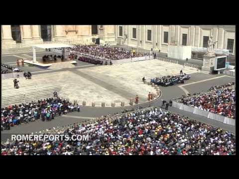 Pope's general audience  The Holy Spirit guides the Church  it guides every one of us