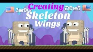 getlinkyoutube.com-Growtopia Creating Skeleton Wings!