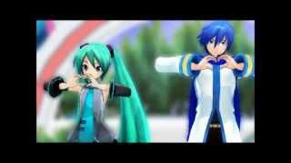 getlinkyoutube.com-~MMD~ LOVE & JOY (Miku + Kaito)