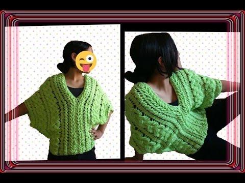 Blusa de trenzas primaverales en crochet parte 1 / linda blusa  /crochet viral / punto fantasía