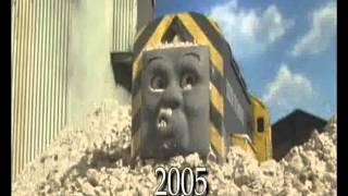 getlinkyoutube.com-30 Years of Thomas & Friends Crashes Sped Up 2x
