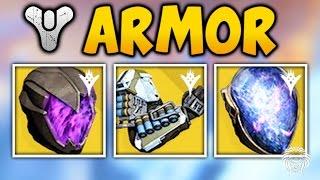 getlinkyoutube.com-Destiny: THE TAKEN KING EXOTIC ARMOR! Titan Blink, Arc Resistance & New Exotic Perks (TTK Exotics)