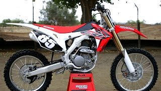 getlinkyoutube.com-First Ride 2017 Honda CRF250 - Motocross Action Magazine