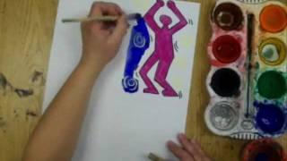 getlinkyoutube.com-3rd - 5th grade Keith Haring Dancers