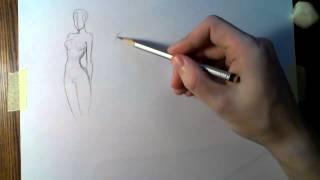 getlinkyoutube.com-Как быстрее научиться рисовать. Скетчи.