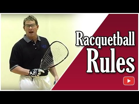 Racquetball Rules and Regulations featuring Marty Hogan