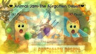 getlinkyoutube.com-Animal Jam| Forgotten Desert Prizes ( 90 prizes! )