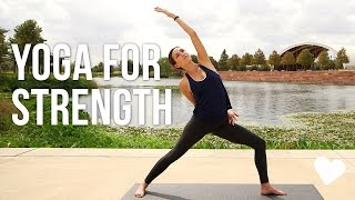 getlinkyoutube.com-Yoga For Strength - 40 Minute Vinyasa Sequence