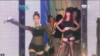Nine Muses Runway Fashion @ Mnet 20 Choices (100826)
