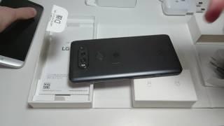 LG V20 Unboxing Titan & Hands On vs LG G5