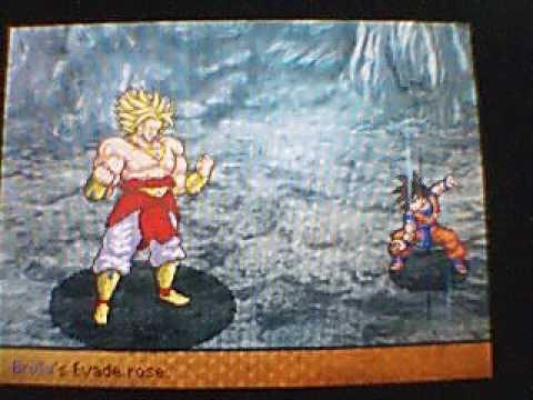 Dragon Ball Z Attack Of The Saiyans Goku VS Broly Boss Fight