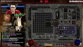 getlinkyoutube.com-Diablo 2 - Martial Arts Assassin Speedrun!!!