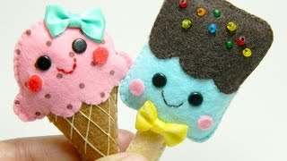 getlinkyoutube.com-How To Make Adorable Felt Ice Cream Brooches - DIY Style Tutorial - Guidecentral