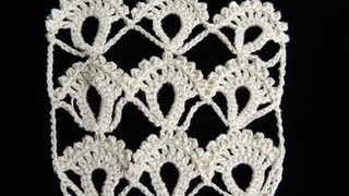 getlinkyoutube.com-Crochet : Punto Fantasia # 3