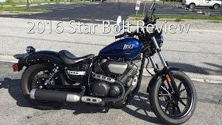 getlinkyoutube.com-2016 Yamaha Star Bolt Motorcycle Review