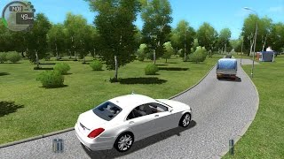 getlinkyoutube.com-City Car Driving 1.4.0 Mercedes-Benz S500 2014 W222 [1080P]