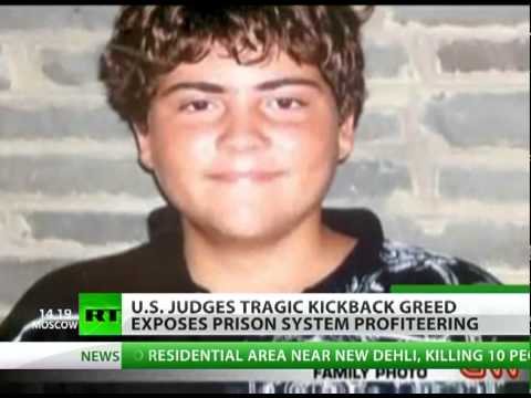 US judges tragic kickback greed exposes prison system profiteering