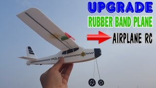getlinkyoutube.com-Upgrade Rubber Band Plane to Airplane RC