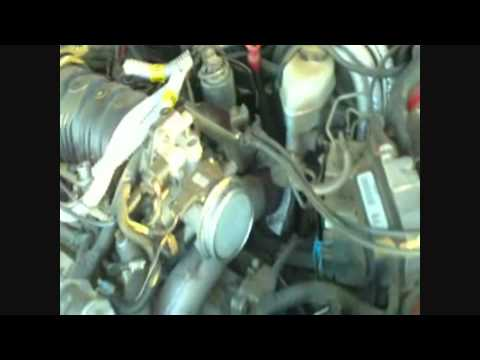 How to change the engine air filter on a Grand Prix GT