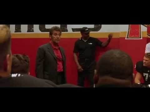 Al Pacino's Inches Inspirational Speech - Any Given Sunday