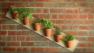 getlinkyoutube.com-How To  Build Quick Vertical Garden Projects with Gardeniere Jim Cunneen
