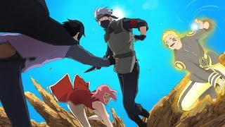 getlinkyoutube.com-Hokage Naruto, Sasuke & Sakura vs Kakashi - Naruto Shippuden Ultimate Ninja Storm 4 Road to Boruto