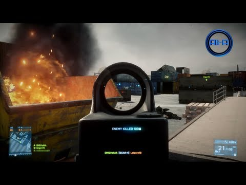 NEW Battlefield 3 - Online Multiplayer Gameplay w/ SCAR! - (LIVE BF3 Gameplay 1080p)