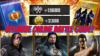 WWE Immortals - Ultimate Guide to Online Battles!