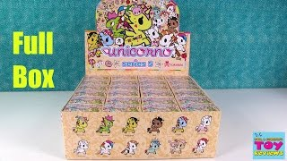 getlinkyoutube.com-Tokidoki Unicornos Series 5 Blind Box Opening Unboxing Review | PSToyReviews