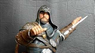 "getlinkyoutube.com-""Ezio Auditore The Mentor"" [Assassin's Creed: Revelations] NECA Player Select"