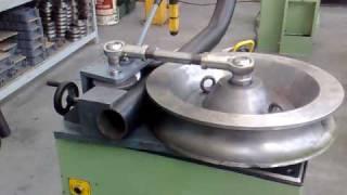 getlinkyoutube.com-ETM 90 memoli curvatubi tube bender,tube  bending machine memoli.it