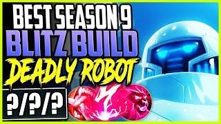 BEST SEASON 9 BLITZCRANK BUILD | DEADLY ROBOT STRONGEST SUPPORT | SUP Blitzcrank Season 9 Gameplay