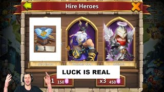 getlinkyoutube.com-DREAM Rolling Session 10,000 GEMS ALL THE GOODS Castle Clash