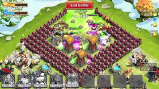 getlinkyoutube.com-How To Level up Your Heroes Fast in Castle Clash 2014