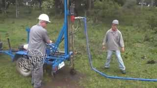 getlinkyoutube.com-Perfuratriz Hidráulica para poços semi-artesianos - NILBRASIL