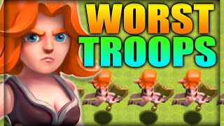 getlinkyoutube.com-Clash of Clans – TOP 3 Useless Troops of ALL Time!! WORST TROOPS in Clash! (CoC Top 3 Worst Troops!)