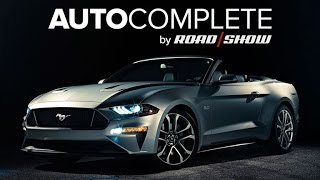 AutoComplete: Ford drops the top on 2018 Mustang convertible